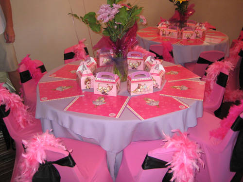 Gorgeous Pink Birthday Party Table Decoration Perfect Table