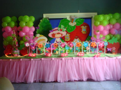 Attractive amp Colorful Birthday Party Idea Perfect Table