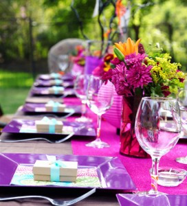 Lovely Birthday Table Decoration Idea