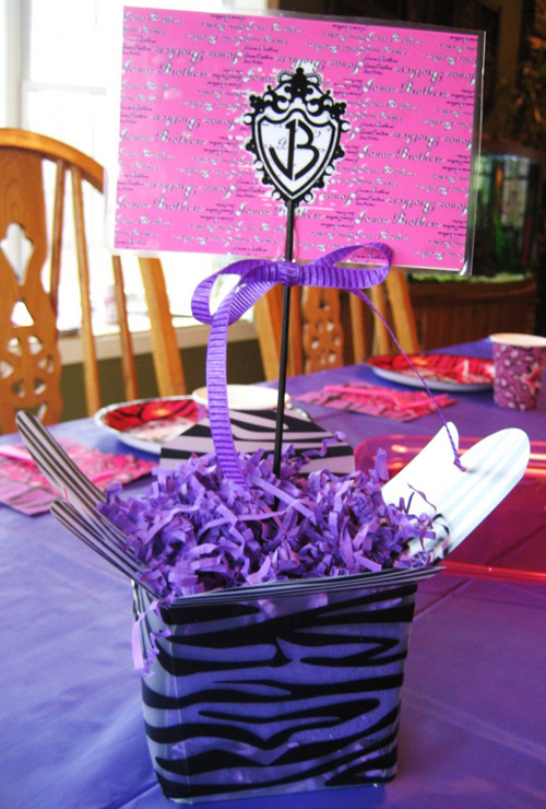 This Birthday party table use simple and easy to make at home kind of ...