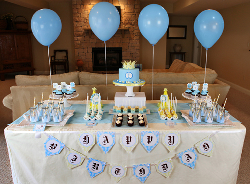 A Pleasing Birthday Table Decoration | Perfect Table Decorations