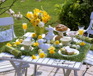 Scenic Easter Table Decorations Ideas